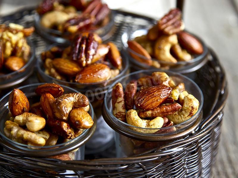 Орехи мед и корица